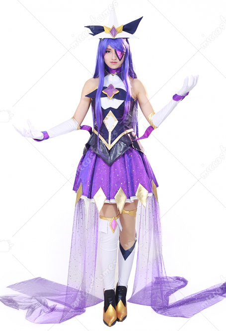 [Free US Economy Shipping] League of Legends Syndra Cosplay Costume Dress