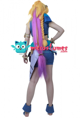 League of Legends the Aspect of Twilight Zoe Cosplay Costume