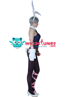League of Legends Battle Bunny Riven Cosplay Costume