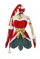 League of Legends LOL Ambitious Elf Jinx Christmas Snowdown Jinx Cosplay Costume