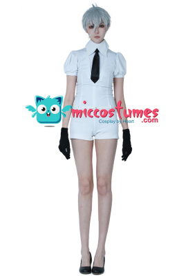 Land of the Lustrous Houseki no Kuni Antarcticite Cosplay Costume Suit Uniform