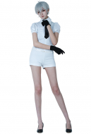 Land of the Lustrous Antarcticite Cosplay Costume Suit Uniform