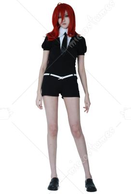 Houseki no Kuni Phosphophyllite Cinnabar Diamond Black Uniform Cosplay Costume