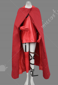 Ludwig Revolution Little Red Riding Hood Cosplay Costume Hunter Outfits