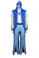 Lazy Town Sportacus Full Set Cosplay Costume Including Shoes and Hat
