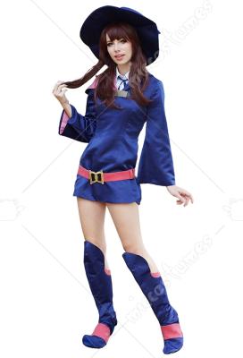 Details about  /Little Witch Academia Atsuko Kagari Akko Cosplay Shoes Costume Boots