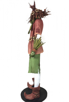 Deluxe Handmade Legend of Zelda: Majora's Mask Lost Woods Skull Kids Cosplay Costume Including Shoes