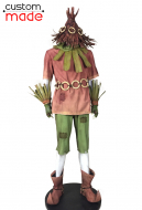 Deluxe Handmade Legend of Zelda: Majora's Mask Lost Woods Skull Kids Cosplay Costume Including Shoes