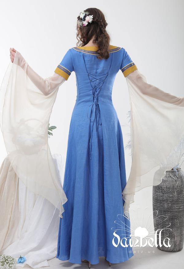 Transparente Chiffon Ärmel für mittelalterliches Kleid