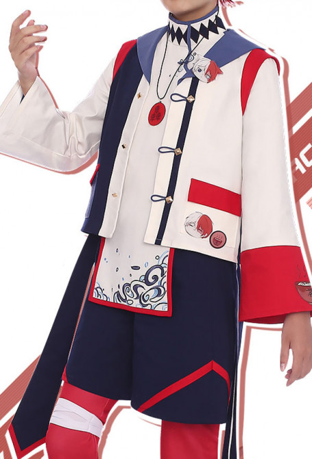 My Hero Academia Costume de Cosplay Shoto Todoroki Tenue Quotidienne