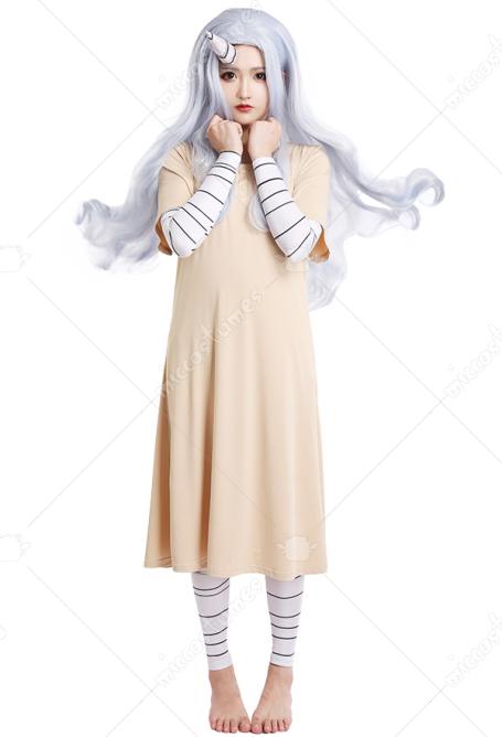 Eri Costume My Hero Academia Cosplay Dress For Sale #eri chan #bnha eri #aizawa #aizawa shouta #bnha #pink and yellow? my hero academia eri cosplay costume dress with horn