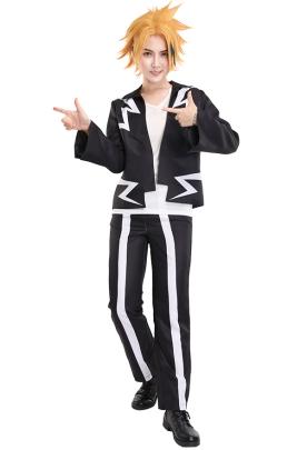 My Hero Academia Kaminari Denki Cosplay Costume Outfit