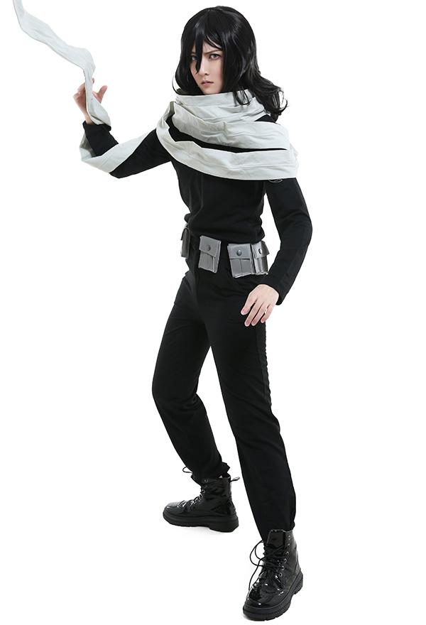 My Hero Academia Boku no Hero Academia Shota Aizawa Eraser Head Cosplay Kostüm mit Schal