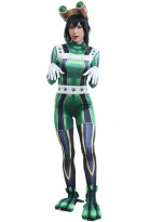 My Hero Academia MHA Women Asui Tsuyu Battle Suit Zentai Suit Bodysuit 3D Printed Cosplay Costume