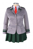 Plus Size My Hero Academia Female Cosplay Costume School Uniform