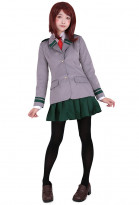 My Hero Academia Boku no Hero Academia Ochako Tsuyu Female Cosplay Costume School Uniform