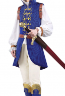 Inspired by My Hero Academia BNHA Todoroki and Shoto Prince Uniform Set Cosplay Costume with Sword Cover and Shoes Cover