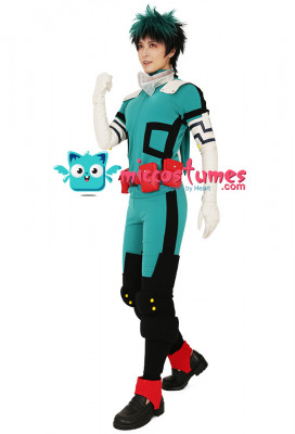 [Free US Economy Shipping] My Hero Academia Midoriya Izuku Deku Cosplay Costume Gamma Battle Suit Fighting Suit