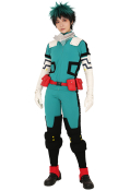 [Free US Economy Shipping] My Hero Academia Midoriya Izuku Deku Cosplay Costume Fighting Suit