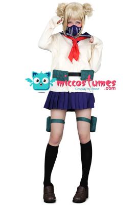 My Hero Academia League of Villains Himiko Toga Cosplay Costume Uniform