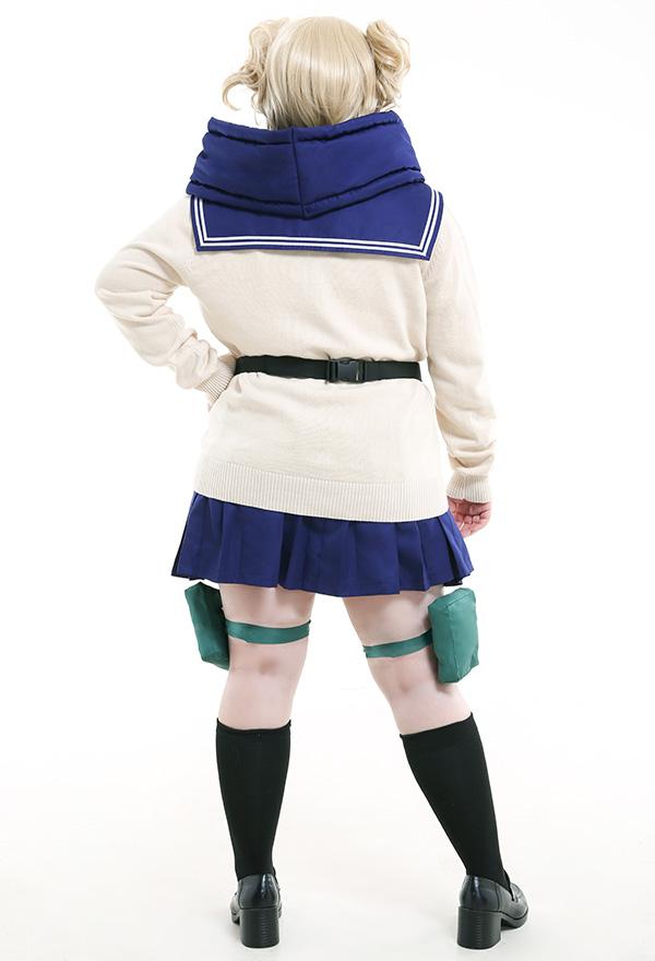 Übergröße My Hero Academia League of Villains Himiko Toga Uniform Curvy Cosplay Kostüm