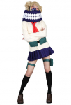 My Hero Academia League of Villains Himiko Toga Cosplay Costume Uniform