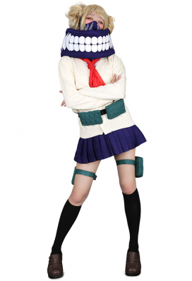 My Hero Academia League of Villains Himiko Toga Uniforme de vestuario Cosplay