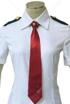 My Hero Academia Female Summer School Uniform Cosplay Costume with Tie