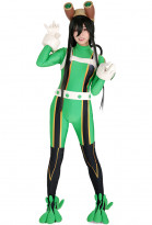 My Hero Academia Froppy Tsuyu Asui Cosplay Bodysuit Jumpsuit Costume Hero Suit