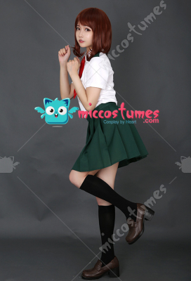 [Free US Economy Shipping] My Hero Academia Summer School Uniform Cosplay Costume for Women with Tie