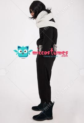 My Hero Academia Shota Aizawa Eraser Head Cosplay Costume with Scarf