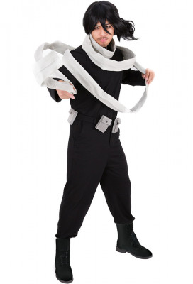 My Hero Academia Boku no Hero Academia Shota Aizawa Eraser Head Cosplay Costume with Scarf
