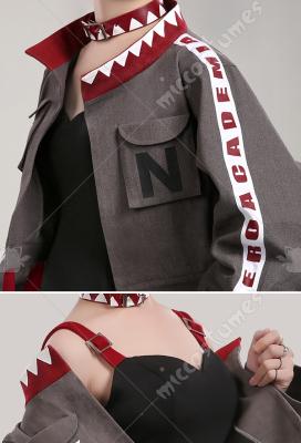 My Hero Academia Toga Himiko Hero Magazine Daily Fashion Uniform Cosplay Costume