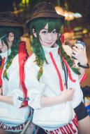 My Hero Academia Froppy Asui Tsuyu Weekly Magazine Style Cosplay Daily Hoodie Jacket Cosplay Costume