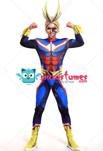 520e95dcd My Hero Academia All Might Toshinori Yagi Hero Suit Jumpsuit 3D Printed  Bodysuit Cosplay Costume