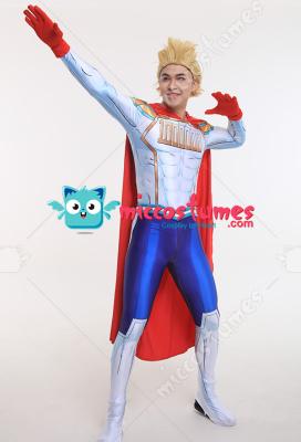 My Hero Academia Mirio Togata Hero Suit Bodysuit Cosplay Costume with Cape