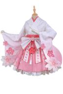 My Hero Academia Ochako Uraraka Sakura Kimono Dress Cosplay Costume