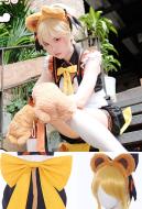 My Hero Academia Cosplay Katsuki Bakugo Cosplay Maid Costume