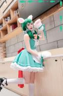 My Hero Academia Cosplay Midoriya Izuku Cosplay Maid Costume