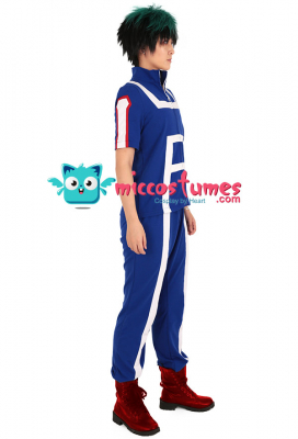 My Hero Academia U.A High Gym Suit Cosplay Costume Sportswear