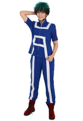 My Hero Academia Midoriy Deku Bakugou Todoroki U.A High Gym Suit Uniform Cosplay Costume Sportswear Cotton Comfy Breathable Sport Outfit