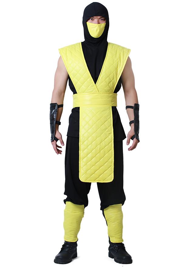 Mortal Kombat Scorpion Cosplay Kostüm