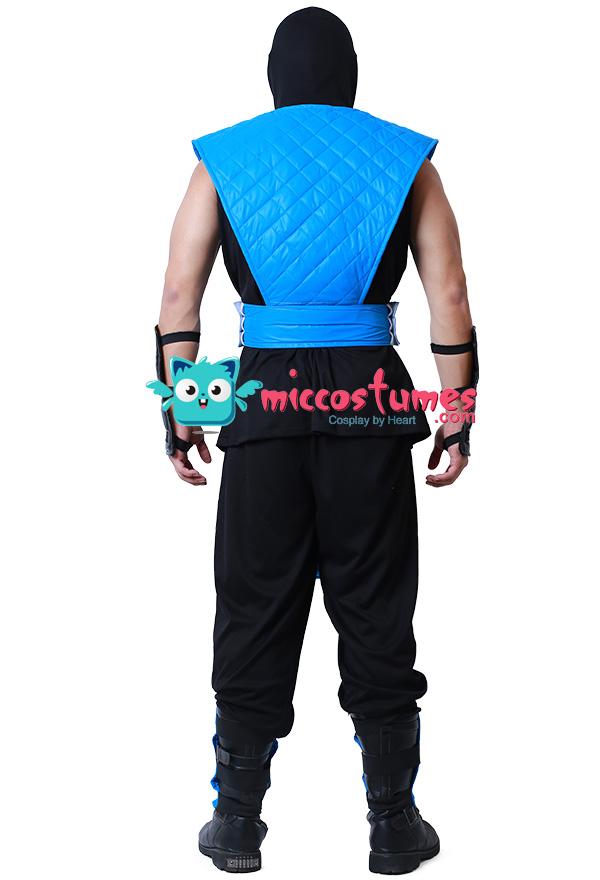 Mortal Kombat Sub-Zero Cosplay Kostüm