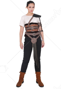 Mad Max: Fury Road Imperator Furiosa Cosplay Costume with Belts set