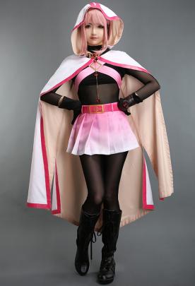 Magia Record Puella Magi Madoka Magica Side Story Tamaki Iroha Cosplay Costume Cloak
