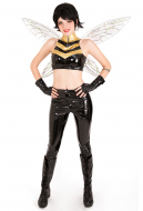 The Wasp Cosplay Costume with Wings Inspired by Ultimate Comics