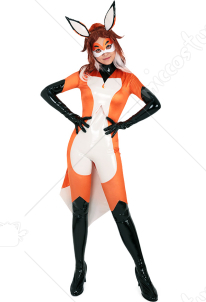 Alya Fox Cosplay Costume Bodysuit Inspired by Rena Rouge