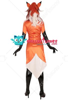 Alya Fox Cosplay Costume Bodysuit Inspired by Rena Rouge