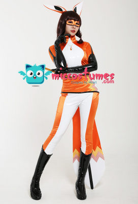 Black Cat and Ladybug Fox Volpina Cosplay Suit Costume with Mask and Ears