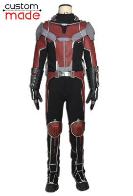 Superhero Deluxe Handmade Jumpsuit Cosplay Costume Inspired by Ant-Man Scott Lang Custom Made